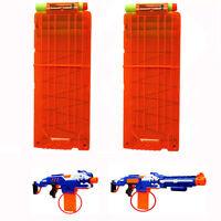 12 Dart Quick Reload Clip System Darts for Nerf N-strike Elite Blaster Toy Gun
