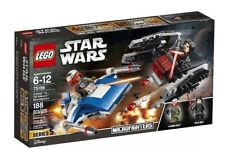 STAR WARS LEGO Microfighters 75196 A-Wing vs TIE Silencer 188pcs With KYLO REN