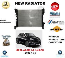Für Opel Adam 1.2 1.4 LPG 2012- > auf Neu Motor Kühler OE Qualität