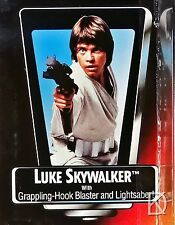 Luke Skywalker Short Saber Unopened Star Wars POTF 2 1995 Action Figure Red Card