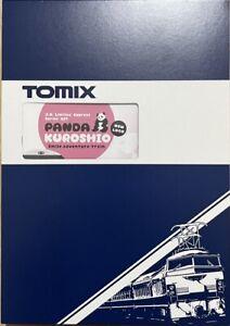 Tomix N-Gauge 97933 JR 287 Series Ltd Exp (Panda Kuroshio / New Logo)