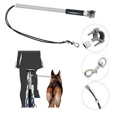 PawHut Dog Bicycle Leash Rope Lead Strap Bike Distance Keeper Hands Free Leash