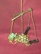 Puppet Style Swimming Turtle in Scuba Outfit Ornament by Department 56