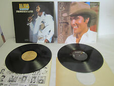 Lot of 2 Elvis Presley Vinyl Albums: Promised Land & Guitar Man, RCA 1975, 1981