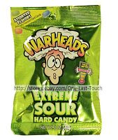 WARHEADS^* 2 oz Bag Hard Candy EXTREME SOUR Assorted Flavors CANDIES Exp. 7/21+