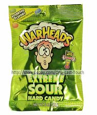 WARHEADS^* 2 oz Bag Hard Candy EXTREME SOUR Assorted Flavors CANDIES Exp. 6/19+