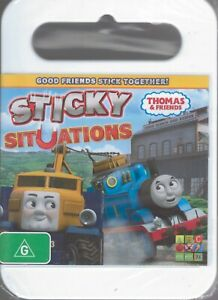 THOMAS & FRIENDS DVD Sticky Situations Region 4 NEW/SEALED 6 Episodes Free Post