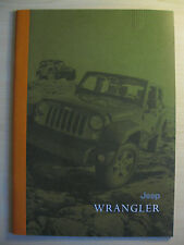 Jeep Wrangler UK Sales Brochures (2011/12)