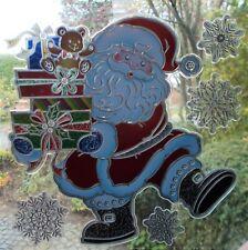 Fensterbild Weihnachts-Deko Weihnachtsmann