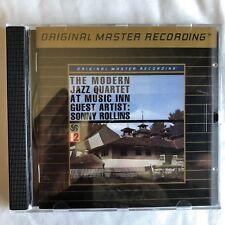 Modern Jazz Quartet / Live At The Music Inn Vol. II - Gold CD - MFSL - UDCD 632