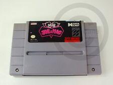 !!! Nintendo SNES juego Joe & Mac NTSC módulo, usados pero bien!!!