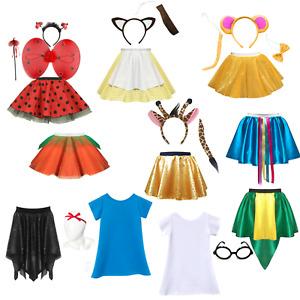 Girls Dahl WORLD BOOK DAY COSTUMES Fancy Dress MATILDA Giraffe LADYBIRD Sophie