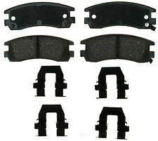 Disc Brake Pad Set-Ceramic Disc Brake Pad Rear ACDelco Pro Brakes 17D698CH