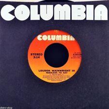 """7"""" LONDON WAINWRIGHT III Dead Skunk / Needless To Say COLUMBIA Folk-Rock US 1972"""