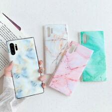 For Samsung Galaxy A30 A50 A70 A90 A6 A8 A7 Marble Soft Silicone Slim Cover Case