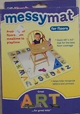 """Unisar Infant High Chair Messymat For Floors 48"""" By 42"""" New"""