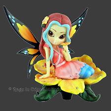 HIBISCUS HONEY Strangeling Ltd Edition Fairy Figurine By Jasmine Becket-Griffith