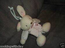 PLUSH DOLL CARTERS ACCORDION BABY LULLABY BUNNY NURERY TWINKLE LITTLE  STAR TOY