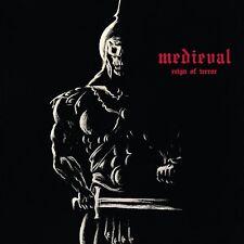 MEDIEVAL - Reign In Terror - Vinyl Mini-LP white/ black splatter Neu New