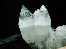An Apophyllite Stalactite Crystal with VERY TRANSLUCENT Points! India 89.7gr
