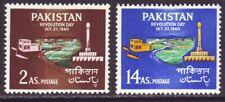 Pakistan 1960 SC 114-115 MH Set Revolution Day