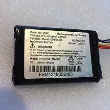 BATTERY REPLACEMENT FOR TOM TOM GO 5000 & 6000 & original VFAD BATTERY 1100 MAH