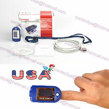 CMS50D+ Finger pulse Oximeter Blood Oxygen SpO2 Monitor with USB software,CE&FDA