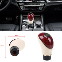 Universal 5 Speed Manual Car Shift Lever Gear Knob Stick Shifter Lever Wooden UK