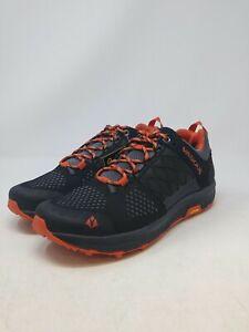 Vasque Men's Black/Orange Hiking Shoes Size 7 US