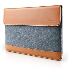 Apple iPad Pro 12.9 Case Sleeve Leather Wallet Built-in Card Slot Pencil Holder