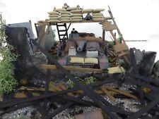 * NEW * GERMAN  STUG  TANK  DESTROYER  BOMBED  OUT  HOUSE  BUILT  SCENE 1:35