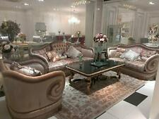 Klassischer 3 Sitzer Couch Sofa Couch Polster Sofas Couchen SB53 Barock Rokoko