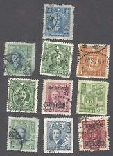 CHINA - TEN EARLY USED ISSUES    (3)