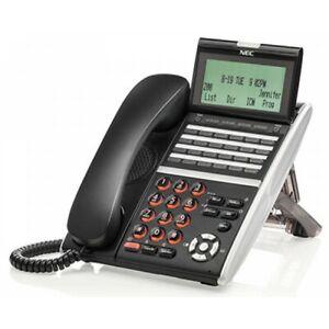 NEC ITZ-24DG-3(BK)TEL IZV(XDG)W-3Y(BK) 660138 Gigabit IP Phone 1 Year Warranty
