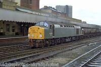 British Rail Class 40 40 106 Manchester 20/08/82 Rail Photo b