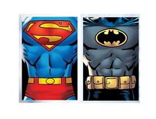 plaid polaire 100 x 150 superman batman, Plaid polaire enfant Superman et Batman
