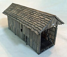 50' QUEEN POST NG COVERED BRIDGE HOn3 Model Railroad Structure Wood Kit HL111HNC