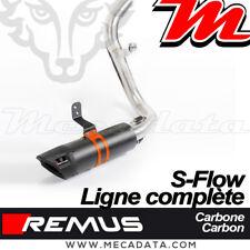 Ligne complète Pot échappement REMUS Sport Flow sans Cat. KTM 125 Duke 2018