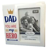 HERO DAD 4 x 6 Photo Picture Frame - Special Moments Collection SALE