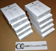 10 PACK NEW Lightning to USB Cable  MD818ZM/A OEM