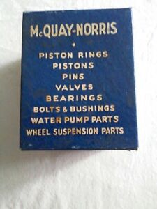 MCQUAY NORRIS VTG VALVE SPRINGS VS-348 1942-59 CHRYSLER, DESOTO, DODGE- set of 6