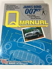 James Bond 007:  Q Manual - Role Playing In Her Majesty's Secret Service