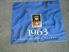 Time Passages Commemorative Year Book - Birthday Anniversary Gift - 1963