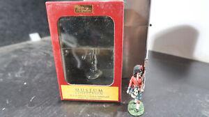 Britains BOXED 54mm No 10021 Black Watch Colour Sergeant