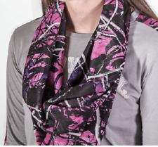 Muddy Girl Infinity Scarf/Wrap   High Quality   Pink or Blue w/ Black Camo Print