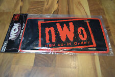WCW NWO License Plate Red Black New World Order Racing Champions WWF WWE