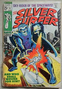 Silver Surfer 5 (1968 series), Marvel comics