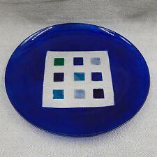 More details for steninge slott large glass bowl lena hanson 2004 swedish art glass signed boxed