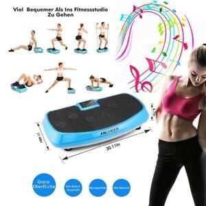 4D Vibrationsplatte Platte LCD Shaper Vibrations Ganzkörper Trainingsgerät 150kg
