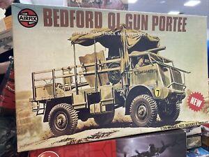 AIRFIX BEDFORD Q L GUN PORTEE 1/35 Complete Unstarted